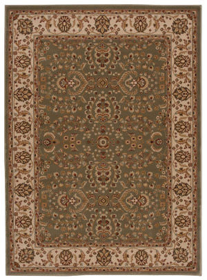 Nourison Persian Crown Pc003 Green Area Rug