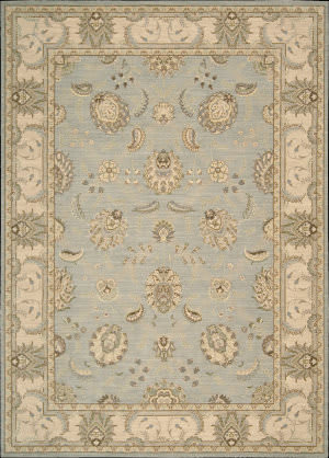 Nourison Persian Empire PE-22 Aqua Area Rug