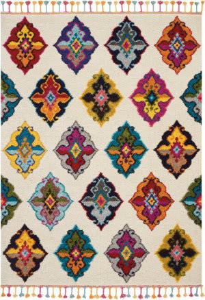 Nourison Moroccan Casbah Mcb06 Ivory - Multicolor Area Rug