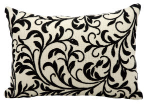 Kathy Ireland Pillows Q5114 Black