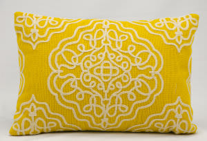 Nourison Pillows Wool Q5116 Buttercup