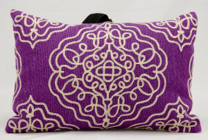 Nourison Pillows Wool Q5116 Violet