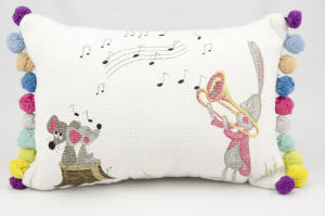 Nourison Pillows New Generation R0160 White