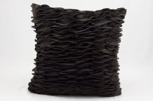 Nourison Mina Victory Pillows Felt R2372 Brown