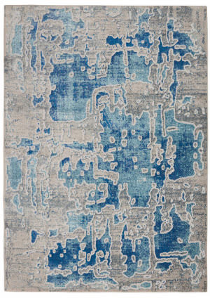 Nourison Radiant Rad06 Grey - Blue Area Rug