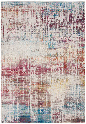 Nourison Radiant Rad07 Grey - Multicolor Area Rug