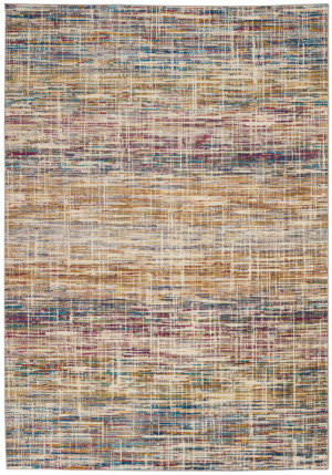 Nourison Radiant Rad11 Ivory - Multicolor Area Rug