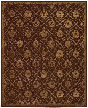 Nourison Regal Reg05 Chocolate Area Rug