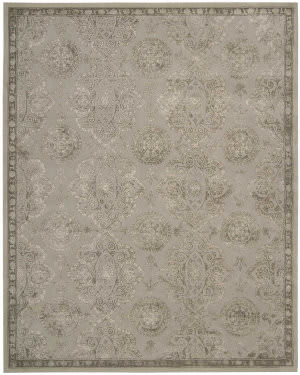 Nourison Regal Reg06 Grey Area Rug
