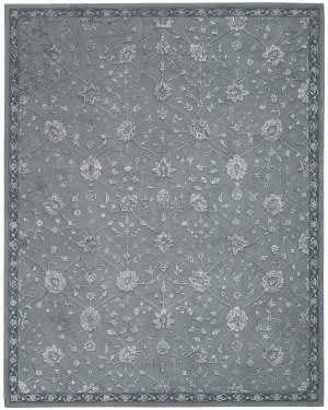 Nourison Regal Reg07 Slate Area Rug