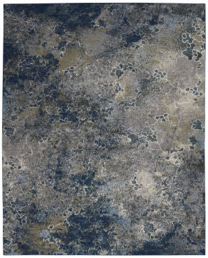 Nourison Artworks Atw02 Blue - Grey Area Rug