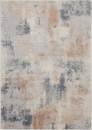 Nourison Rustic Textures Rus02 Beige - Grey Area Rug