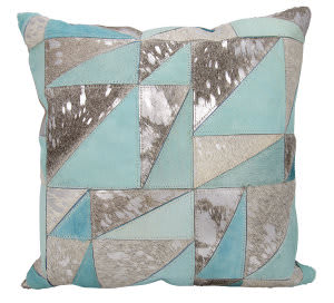 Nourison Mina Victory Pillows S6083 Grey Silver
