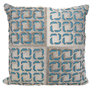 Nourison Mina Victory Pillows S6108 Grey