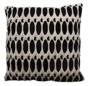 Nourison Mina Victory Pillows S6119 Grey Black