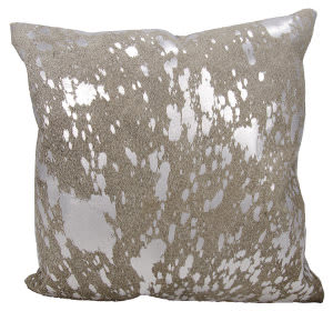 Nourison Mina Victory Pillows S6129 Grey Silver