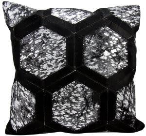 Michael Amini Pillows S6280 Black - Silver