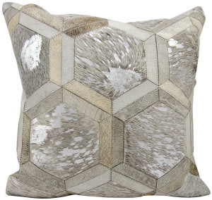 Michael Amini Pillows S6280 Grey Silver