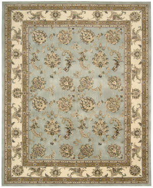 Nourison Silk Touch Sch02 Blue Area Rug