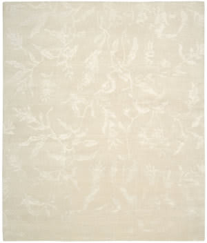 Nourison Silk Shadows Sha01 Ivory Area Rug