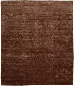 Nourison Silk Shadows Sha03 Rust Area Rug