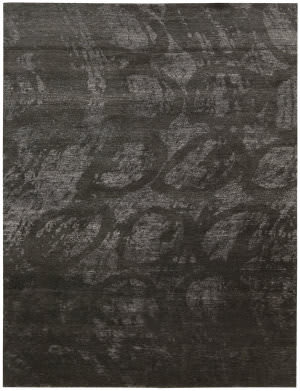 Nourison Silk Shadows Sha04 Coal Area Rug