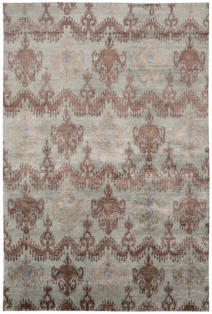 Nourison Silk Shadows Sha07 Azuco Area Rug