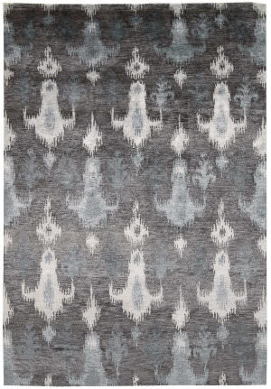 Nourison Silk Shadows Sha09 Grey Area Rug