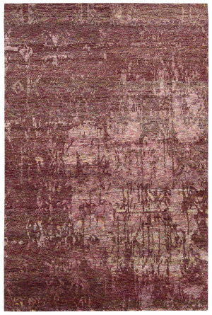 Nourison Silk Shadows Sha10 Wine Area Rug