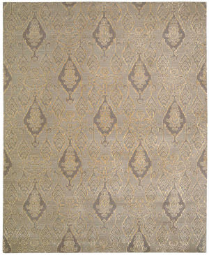 Nourison Silk Infusion Sif03 Grey Area Rug