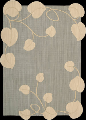 Nourison Silhouettes SIL-04 Light Blue Area Rug