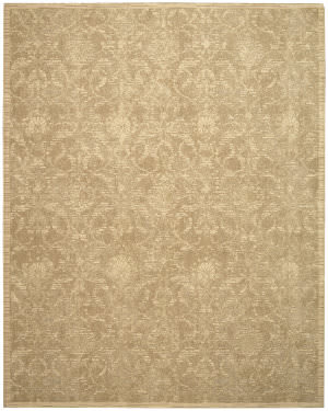 Nourison Silk Elements Ske03 Sand Area Rug