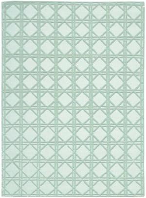 Nourison Silken Textures Skt01 Aqua Area Rug