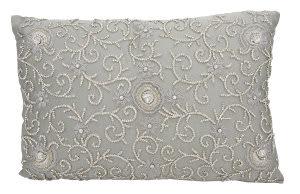 Nourison Mina Victory Pillows Sn187 Grey