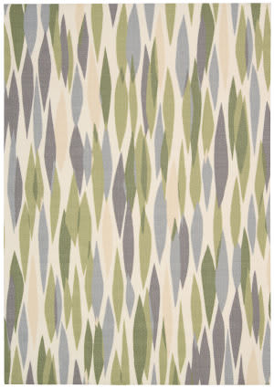 Nourison Waverly Sun & Shade Snd01 Violet Area Rug