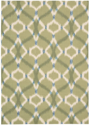 Nourison Waverly Sun & Shade Snd05 Avocado Area Rug