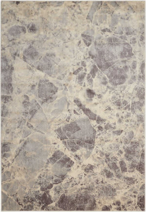 Nourison Somerset St745 Grey Area Rug