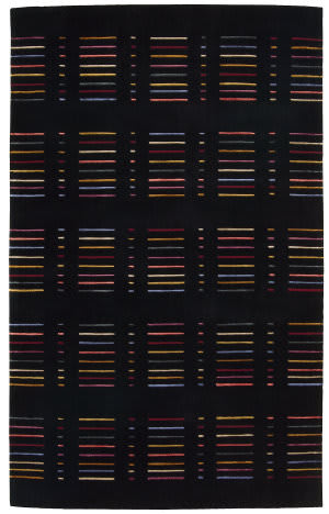 Nourison Spectrum SP01 Black Area Rug