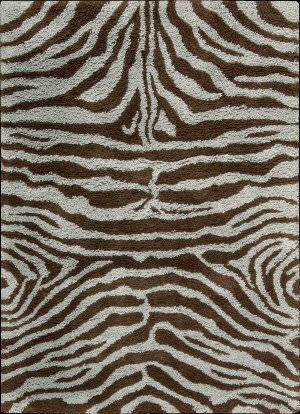 Nourison Splendor SPL-17 Aqua-Brown Area Rug