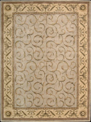 Nourison Somerset ST-02 Blue Area Rug