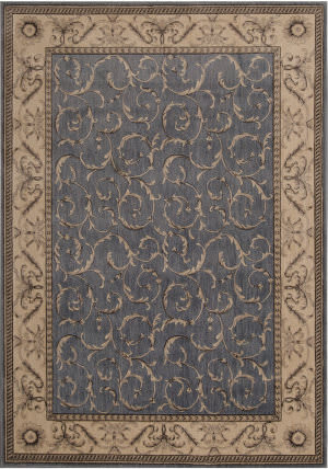Nourison Somerset St02 Light Blue Area Rug