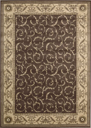 Nourison Somerset St02 Brown Area Rug