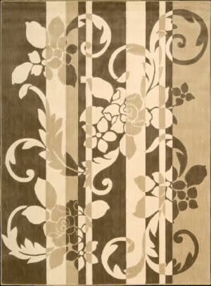 Nourison Somerset ST-65 Brown Area Rug