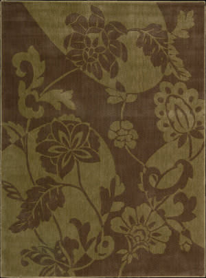 Nourison Somerset ST-67 Brown Area Rug