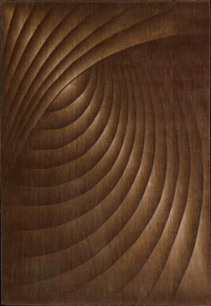 Nourison Somerset ST-75 Chocolate Area Rug