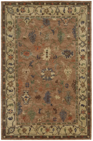 Nourison Tahoe Ta05 Copper Area Rug