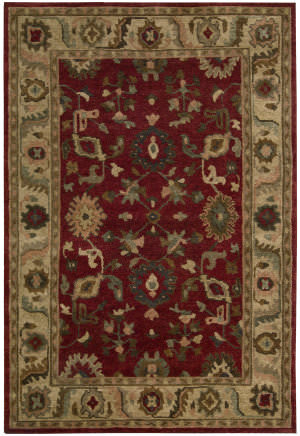 Nourison Tahoe Ta08 Red Area Rug