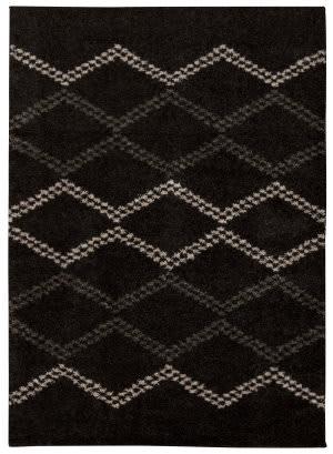 Nourison Tangier Tan01 Black Area Rug