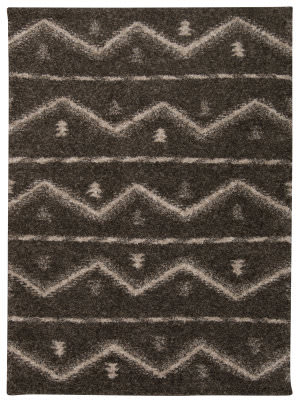 Nourison Tangier Tan04 Grey Area Rug