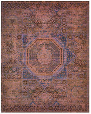 Nourison Timeless Tml06 Blush Area Rug